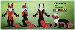 Fursuit Reference Commission: Midnasking by SilverDeni