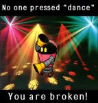 No one pressed dance by Sualc