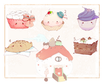 [CLOSED+WINNERS ] Food PET - 14 by Piffi-adoptables