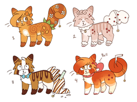Sugar Cat Adoptable Auctions // CLOSED by catpaths