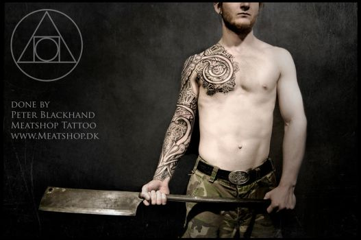 Urnes armor. by Meatshop-Tattoo