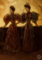 Victorian Ladies by LaTaupinette
