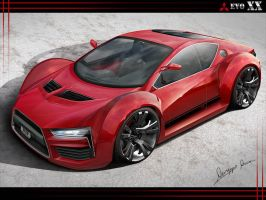 Evo XX Concept Front Version by GatsuDesign