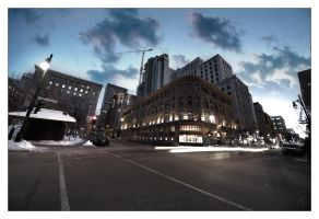 Montreal at Night 58 by Pathethic