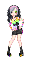 Kylie Anne - Kandi Kid by Secrets-Of-Paranoia