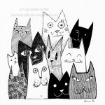 A Bunch of Cats by Stardust-Splendor