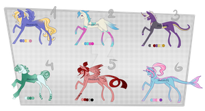 Pony Adoptables #2 [MOVED] by Siinys