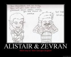 Alistair and Zevran Motiv by HC-IIIX