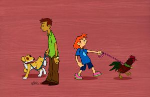 time for walkies by Bob-Rz