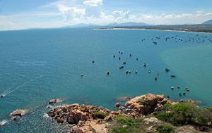 Khe Ga Lighthouse - from the Lighthouse by lehoainamvn