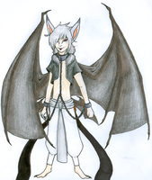 RTG: The Shackled Ghost Bat by LaDjanny