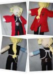 Ed Elric Doll by vegalume