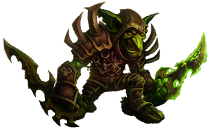 WoW cataclysm Goblin by godofallgodofdeath