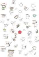 eyes and more eyes by Rox512