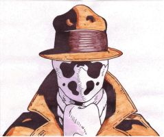 Rorschach colored by DeadWoodPete83