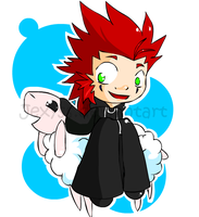 Axel n Sheep by Jexyss