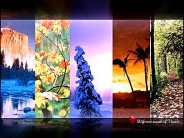 Different Moods of Nature by drsouvikkumar