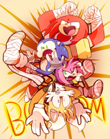 BOOM GOES THE DYNAMITE by MisterCakerz
