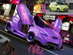 Ford Ka 2009 Crazy Candy Chop by FlorinOprea