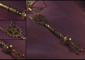 Steampunk Ray Device by hrekkjavakaastarkort