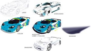 McLaren F1 LeMans Layer Guide by kngzero