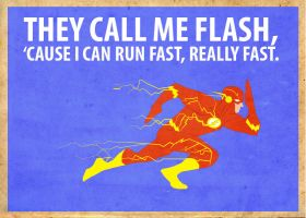 Flash Poster Variation 1 by Procastinating