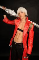 whiskey and whine- Dante cosplay by Detailed-Illusion