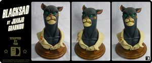 Blacksad bust by spundman