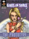 Cover to Girls in Space #01 by Spencey