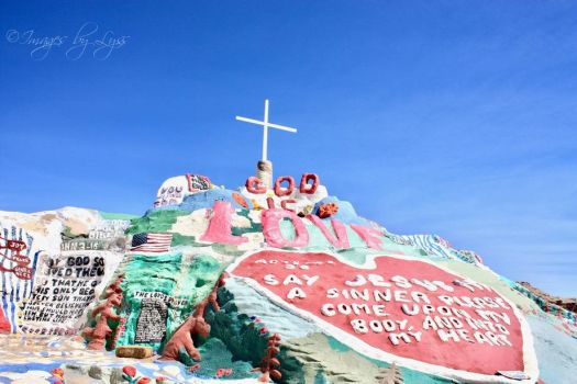 Salvation Mountain by ImagesByLyss