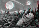 Men on the Moon 3-D conversion by MVRamsey