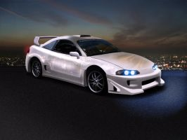 Mitsubishi Eclipse by roleedesign
