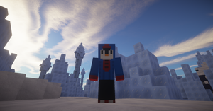 Ice Biome and I :D by ShadowDLL