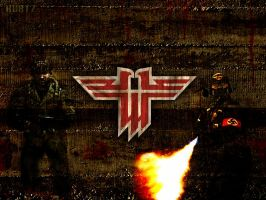 Wolfenstein Wallpaper II by KurtzGB