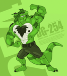 Grinning Green by OutLeaf