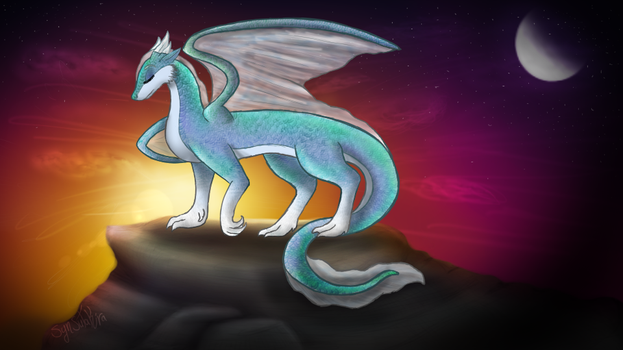 Water Dragon by SynSutakira