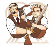 Penn and Teller 2: Penn and Tellerer by michaelfirman