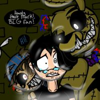 Mark plays FNaF3: Feat. Tex and Withered BB by YaoiLover113