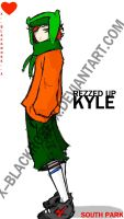 REZZED UP KYLE. by x--blackrose--x