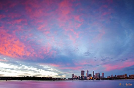 Perth Sunset by Furiousxr