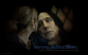 -Severus and Hermione1- by SeverusSnapesAngel