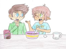 OTP Challenge- 21. Cooking/Baking by drefeno