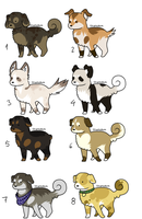 puppy adoptables 7 points by CelesticAdopts