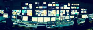 BBC Arabic Control Room by serefisler
