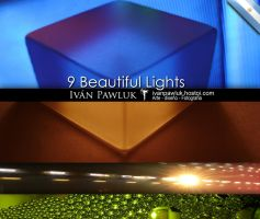 Beautiful lights textures by ipawluk