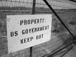 U.S. Government Property by TemplarsDemise