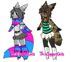 Custom Furry Batch 6 by TechSupportGirls