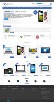 Blueline - OpenCart Theme by Festus911