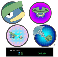 Day 12 Lotad by Jacklave