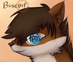 Comission/Headshot - Biscuit by Delta-YD